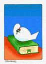 Cartoon: PEACE NOW (small) by halisdokgoz tagged peace now
