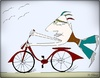 Cartoon: BikeMan (small) by KenanYilmaz tagged bikeman