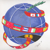 Cartoon: The World Languages (small) by Tural Hasanli tagged tural,hasanli