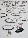 Cartoon: Without of title (small) by Tural Hasanli tagged tural,hasanli