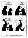 Cartoon: How A Serial Killer Works (small) by Ahmedfani tagged serial,killer,episode