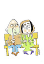 Cartoon: Love on Thursday (small) by Hayati tagged kadin,erkek,mann,frau,wife,man,konflikt,gewalt,problem,mord,tot,ehe,hayati,boyacioglu,berlin