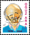Cartoon: OGUZ ARAL (small) by Hayati tagged oguz aral girgir karikaturist artist istanbul silivri turkei lehrer akademie yazili mizah hayati boyacioglu berlin