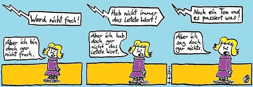 Cartoon das letzte wort medium by weltalf tagged sprache streit