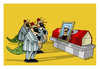 Cartoon: -GOOD BYE ABDULCANBAZ- (small) by donquichotte tagged abdulcanbaz