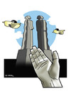 Cartoon: TO SUPPORT SCULPTOR MEHMET AKSOY (small) by donquichotte tagged sclptr