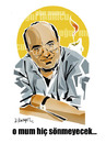Cartoon: UGUR MUMCU (small) by donquichotte tagged umag