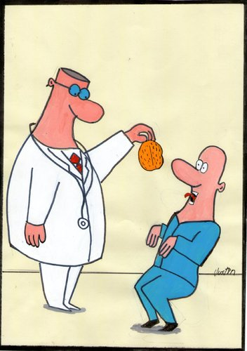 Cartoon: doctor (medium) by claude292 tagged doctor