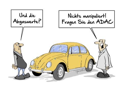 Nichts Manipuliert Von Marcus Gottfried Politik Cartoon