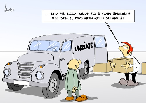 Cartoon umzug medium by marcus gottfried tagged griechenland umzug