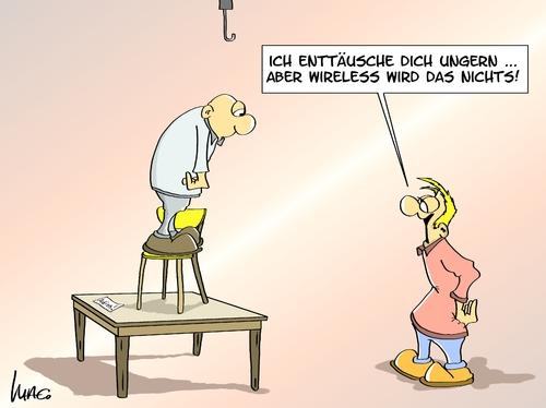 wireless von marcus gottfried medien kultur cartoon toonpool. Black Bedroom Furniture Sets. Home Design Ideas