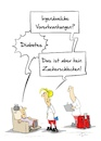 Cartoon: Diabetes (small) by Marcus Gottfried tagged zucker,diabetes,ernährung,essen