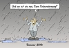 Cartoon: Sommer 2016 (small) by Marcus Gottfried tagged sommer,regen,kalt,kälte,sturm,überflutung,klima,erderwärmung,klimakatastrophe,energiewende,sonne,wetter,hitze,freude,marcus,gottfried,cartoon,karikatur