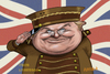 Cartoon: BENNY HILL (small) by Batfink tagged caricature,comedy,comedians