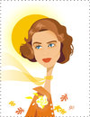 Cartoon: Ingrid Bergman (small) by Nicoleta Ionescu tagged ingrid bergman