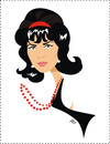 Cartoon: Natalie Wood (small) by Nicoleta Ionescu tagged natalie wood