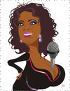 Cartoon: Oprah Winfrey (small) by Nicoleta Ionescu tagged oprah winfrey