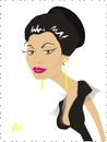 Cartoon: Sophia Loren (small) by Nicoleta Ionescu tagged sophia loren italy actress beauty oscar academy award