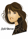 Cartoon: Sophie Marceau (small) by Nicoleta Ionescu tagged sophie marceau woman james bond beauty frau 007 girl schönheit mode