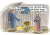 Cartoon: global player (small) by marka tagged weihnachten,religion,sex,gute,argumente