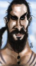 Cartoon: Khal-Drogo-Gameofthrones (small) by Majid Atta tagged majid,atta