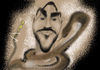 Cartoon: snake man (small) by Majid Atta tagged majid,atta