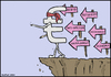 Cartoon: Europe falls down (small) by matan_kohn tagged europe,falls,down,world,men,hate,can,see,love,matan,kohn