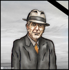Cartoon: R.I.P leonard cohen (small) by matan_kohn tagged leonard,cohen