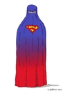 Cartoon: Superburka (small) by Dirk Berrens tagged super,man,burka,frauen,berrens