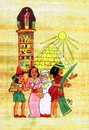 Cartoon: EGIPTO (small) by SOLER tagged egipto,papiro,viajes