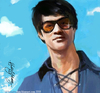 Cartoon: Bruce Lee (small) by kadiryilmaz tagged bruce,lee,illustration