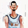 Cartoon: Hidayet Turkoglu (small) by kadiryilmaz tagged hido,hidayet,turkoglu,nba