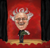 Cartoon: Ed Hooks (small) by frostyhut tagged ed,hooks,animation,animator,coach,acting,theatre,theater,roses,stage