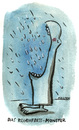 Cartoon: Das Regenfress-Monster (small) by Kossak tagged monster,regen,fressen,hungrig,blau