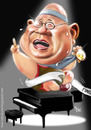 Cartoon: Jaya Suprana (small) by Fivi tagged jayasuprana,caricature