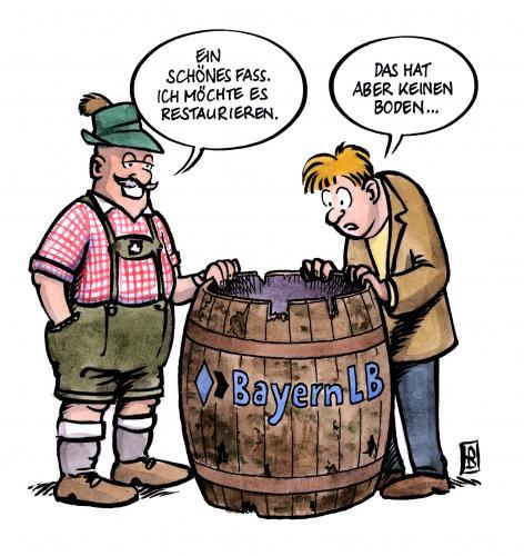 Bayern lb von harm bengen wirtschaft cartoon toonpool for Boden cartoon