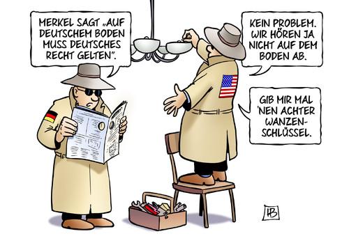 Deutscher boden von harm bengen politik cartoon toonpool for Boden cartoon
