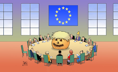 Cartoon: EU und Halloween (medium) by Harm Bengen tagged halloween,brexit,johnson,europa,gipfel,kürbis,eu,austritt,gb,uk,harm,bengen,cartoon,karikatur,halloween,brexit,johnson,europa,gipfel,kürbis,eu,austritt,gb,uk,harm,bengen,cartoon,karikatur
