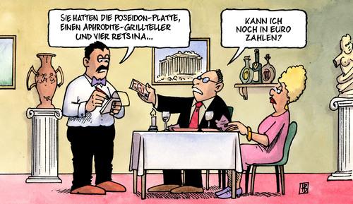 euro ger chte von harm bengen politik cartoon toonpool. Black Bedroom Furniture Sets. Home Design Ideas