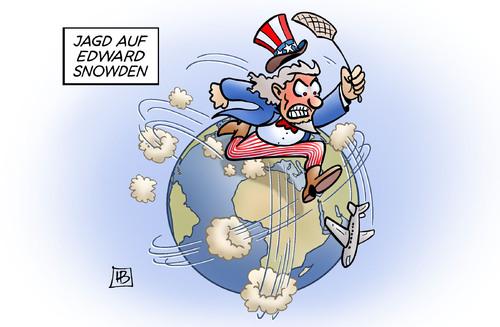 Cartoon jagd auf snowden medium by harm tagged prism tempora gchq