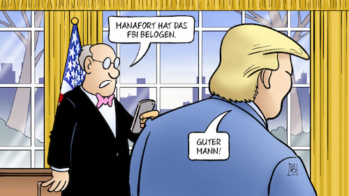 Cartoon: Manafort hat gelogen (medium) by Harm Bengen tagged manafort,trump,wahlkampfchef,russlandermittlungen,fbi,belogen,lügen,oval,office,harm,bengen,cartoon,karikatur,manafort,trump,wahlkampfchef,russlandermittlungen,fbi,belogen,lügen,oval,office,harm,bengen,cartoon,karikatur