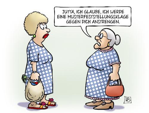 Musterfeststellungsklage Von Harm Bengen Philosophie Cartoon