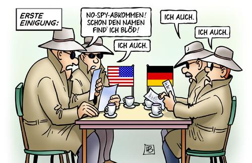 No Spy Abkommen