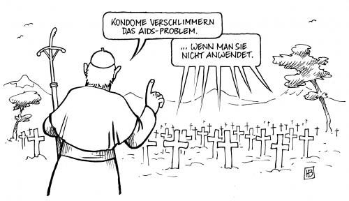 Papst in Afrika