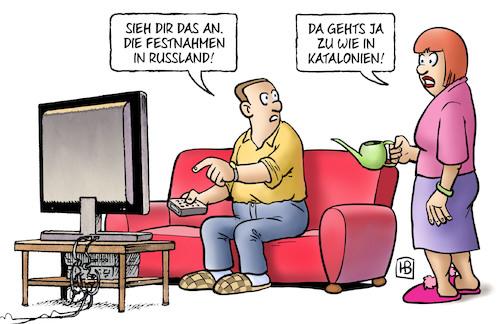 Putin Geburtstag Von Harm Bengen Politik Cartoon Toonpool