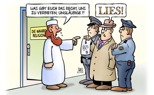 Salafisten Verbot