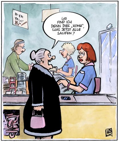 The return of the kiffer oma von harm bengen medien - Morgenlatte lustig ...