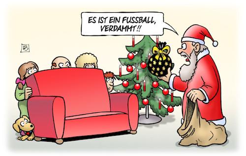 Weihnachtscartoon