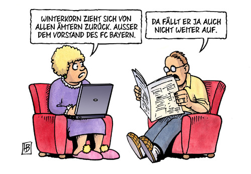 Cartoon: Winterkorn-Ämter (medium) by Harm Bengen tagged karikatur,cartoon,bengen,harm,betrug,manipulation,abgaswerte,vw,verein,fussball,bayern,fc,vorstand,rückzug,ämtern,winterkorn,winterkorn,ämtern,rückzug,vorstand,fc,bayern,fussball,verein,vw,abgaswerte,manipulation,betrug,harm,bengen,cartoon,karikatur