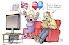 Cartoon: Brexen (small) by Harm Bengen tagged küssen,brexit,erbrechen,kotzen,kotztüte,royal,wedding,2018,tv,medien,hype,hochzeit,meghan,harry,royals,england,harm,bengen,cartoon,karikatur